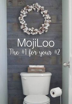 The latest from MojiLife...MojiLoo! The #1 for #2!