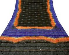 http://www.ebay.com/itm/VINTAGE-INDIAN-SAREE-PURE-KHADI-SILK-PRINTED-FABRIC-DECOR-CRAFT-BLACK-BANDHANI-/400928051191?pt=LH_DefaultDomain_0