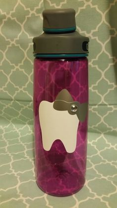 Dental Assistant Cup {Tooth with a bow decal}