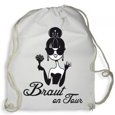 "Rucksack ""Team Braut on Tour"" - Pink Party Shop, Ring Verlobung, Bridal Shower, Tours, Pink, Bags, Wedding, Shower Ideas, Sweet"