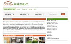 Создание сайта Odessa Apartment Заказать создание сайта или магазина в Украине >> http://site-made-in.odessa.ua/