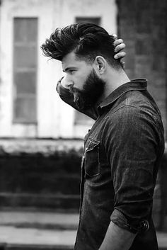 Beard is back in fashion.With the cold weather kicking in, now is the perfect time to test-drive a bit of extra chinsulation. Let your beard grow out a little longer over Christmas and go for a sexi manly look.Here are most Badass Beard-Growing Beard Styles For Men, Hair And Beard Styles, Men's Grooming, Sexy Bart, Badass Beard, Look Man, Beard Love, Man Beard, Perfect Beard