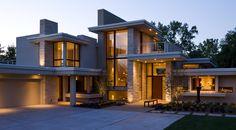 twilight  Charles Stinson Architect  Laurie Plattes interior design