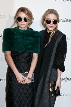 Anteojos circulares inspiración de las hermanas Olsen, tendencia primavera verano'14