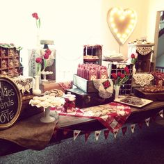 Vintage Valentine Cookie Exchange Party. I love a good cookie exchange, but Christmas is to busy. Valentine season is perfect!