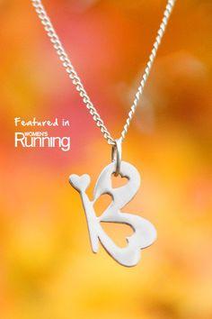 """I Am"" Butterfly Necklace #believeiam #running #dreams"