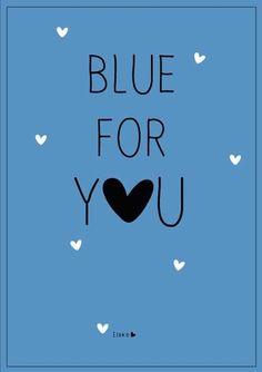 Blue for you | Elske | www.elskeleenstra.nl