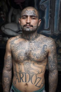 Adam Hinton - El Salvador. Penas Ciudad Barrios is a maximum security prison for members of the Mara Salvatrucha Gang, or MS, in the South of El Salvador.