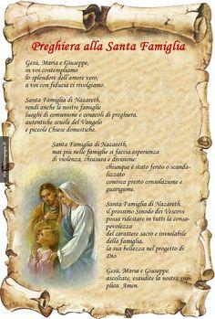 preghiera alla Sacra famiglia -