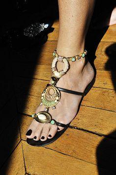 Atelier Mercadal sandal. Photo by Frederique Veysset.