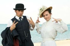 George & Emily, Murdoch Mysteries (Jonny Harris and Georgina Reilly)