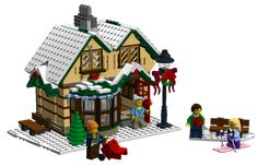 lego christmas cottage - Google Search