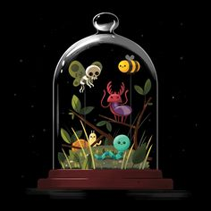 Tonight at iam8bit is the launch party and gallery show to celebrate the new Adventure Time: The Art of Ooo and I did few more Collected Curiosities to celebrate! The show has such a stellar...