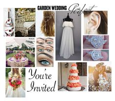 """Bohemian Garden Wedding"" by nerdydragonwarrior ❤ liked on Polyvore"