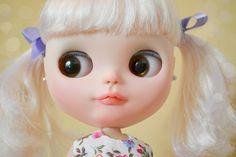 Custom Simply Vanilla Blythe Doll by MissFreyaJ