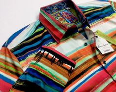 Robert-Graham-Men-Southwestern-Indian-Navajo-Aztec-Tribal-Jacquard-Sport-Shirts