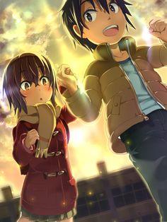 Fujinuma Satoru y Hinazuki Kayo ~ Boku dake ga Inai Machi (Seinen, Psicológico, Sobrenatural, Anime Invierno 2016)