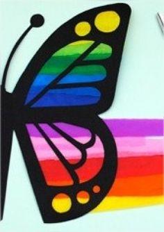 vitral de borboleta 01