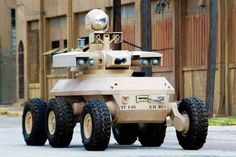 XM1219 Armed Robotic Vehicle