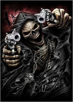skeletons & death riders