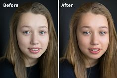 basic portrait editing in LR