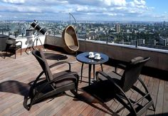 40 Chic Rooftop & Terrace Designs