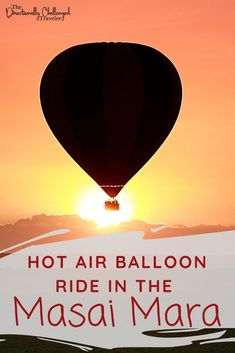 Want to see the Great Migration in Kenya? Why not do it on a hot air balloon safari! Learn all you need to know about taking a hot air balloon ride in Kenya! Kenya Travel, Africa Travel, Air Balloon Rides, Hot Air Balloon, The Great Migration, Wildlife Safari, Best Travel Guides, African Culture, Travel Inspiration
