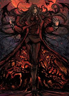 Band of the Hawk — Amazing Hellsing artwork of 元村人.