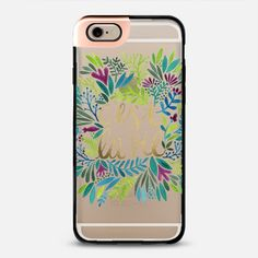 @casetify sets your Instagrams free! Get your customize Instagram phone case at casetify.com! #CustomCase Custom Phone Case | Casetify | Typography | Painting | Transparent  | Cat Coquillette