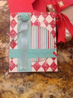 Gift card set. 1 of a set of 6. To give as a hostess gift.