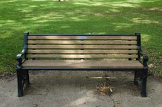 symmetry of a bench