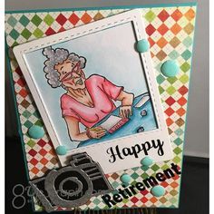 Della (@ibrakeforstamps) • Instagram photos and videos Happy Retirement, Coupon Codes, Coding, Photo And Video, Stamps, Fun, Cards, Inspiration, Videos