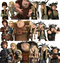 The gang in each age we get to see them in...  I have to to say Race to  the Edge is my favorite!!!<<< i love em all