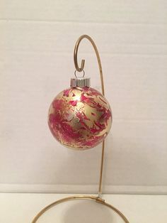 Christmas Ornament Painted Ornament Christmas by FunWithWreaths