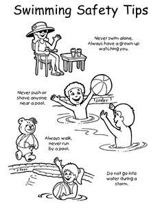 Kids worksheet | Water Safety | Pinterest | Worksheets and Safety