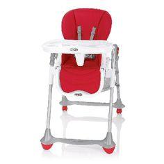 Red Brevi BFUN Highchair