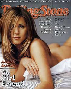 Jennifer Aniston on the cover of Rolling Stones Rolling Stone Magazine Cover, The Rolling Stones, Brad Pitt, Kim Kardashian, Vince Vaughn, Jenifer Aniston, Ross Geller, Rachel Green, Music Magazines