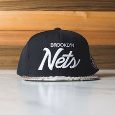 """Just Don Brooklyn Nets Available online and at our Lafayette location. #sneakerpolitics #brooklynnets #justdon #python"""