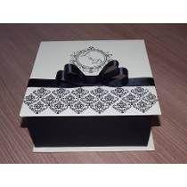 10 Caixas Convite, Padrinhos ,15 Anos,*personalizada** Decoupage Vintage, Decoupage Box, Diy Gift Box, Diy Box, Diy Gifts, Cigar Box Crafts, Pearl Crafts, Idee Diy, Pretty Box