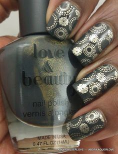 for when i get glossy stamping nail polish