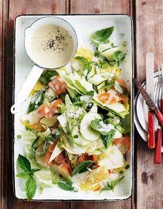 Salade rafraichissante