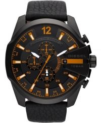d771a09f2ab นาฬิกา นาฬิกาข้อมือ ดีเซล Diesel รุ่น DZ4291Diesel Classic Brown Leather Mega  CHief Chronograph watch