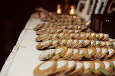 rustic birch wedding escort cards | photo: www.carissachristine.com