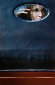 Saul Leiter - Soames Bantry, Harper's Bazaar, ca. 1963 (c) Saul Leiter, Courtesy Howard Greenberg Gallery, New York