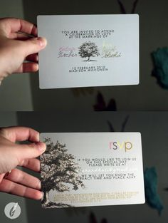 Wedding Invites - KatiSolwold Design
