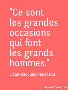 Jean-Jacques Rousseau est un écrivain et philosophe de langue française (1712-1778).