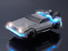 A DeLorean time-machine-shaped case will make your iPhone look capable of traveling to the past and future in style.