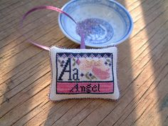 A for Angel Design by Carriage House Samplings