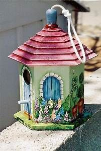 Best 25+ Bird Houses Painted ideas only on Pinterest ...