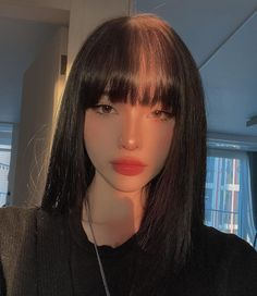 Korean Beauty Girls, Pretty Korean Girls, Cute Korean Girl, Asian Beauty, Asian Girl, Pelo Ulzzang, Ulzzang Korean Girl, Cute Makeup, Makeup Looks